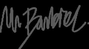 Signature Mr. Barbier