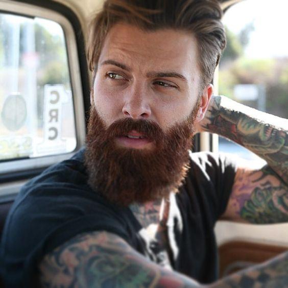 pourquoi votre barbe devient rousse le blog de monsieur barbier - Coloration Barbe