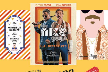 Coffret rasage barbier The Nice Guys