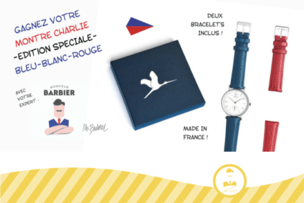 GOLDEN TICKET JUILLET 2016 LA MONTRE CHARLIE WATCH