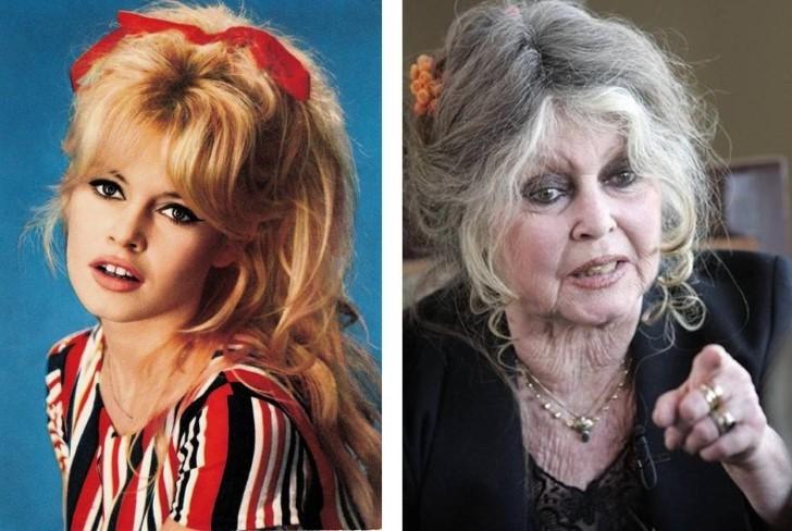 Brigitte Bardot - Avant / Après