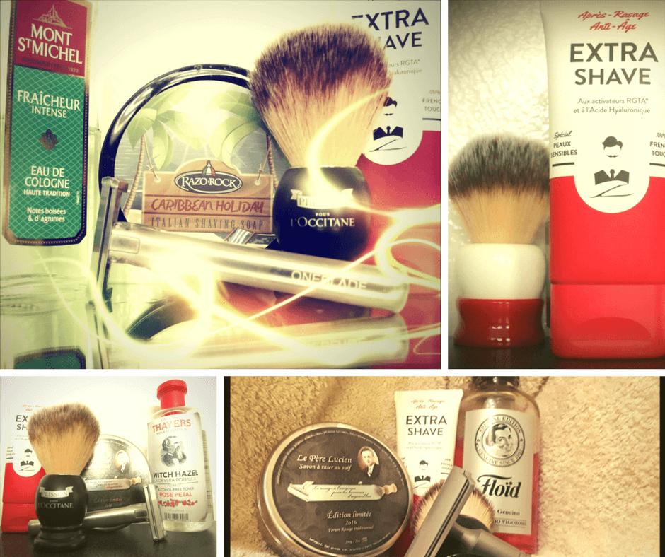 Extra-Shave, Après-rasage vu et testé par rasage traditionnel