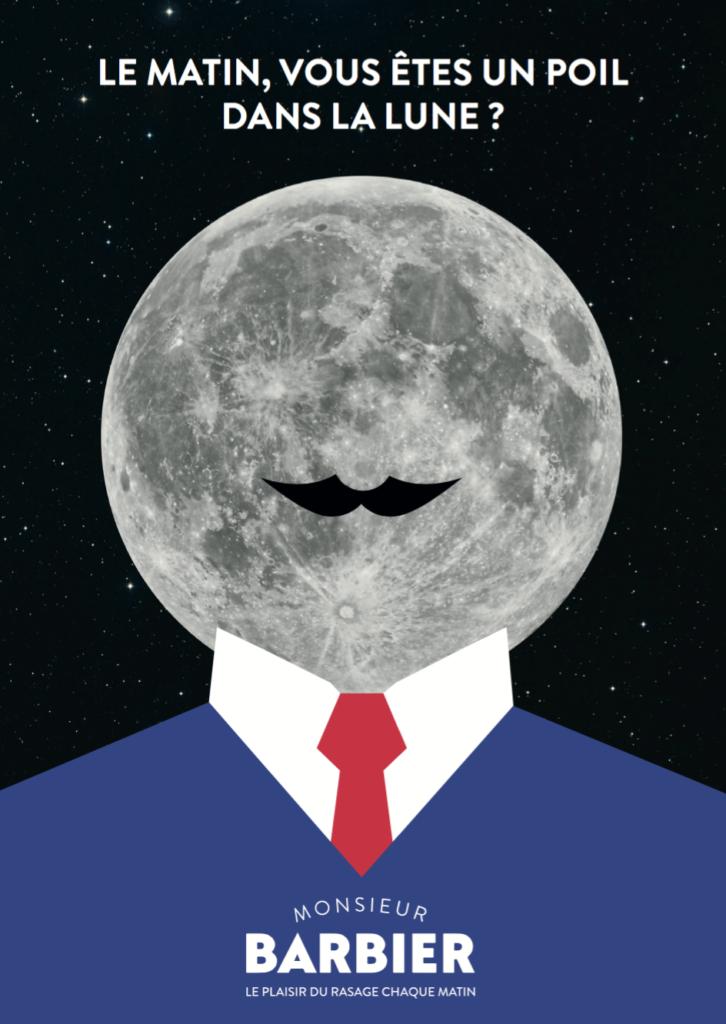 Dans notre dictionnaire du rasage, nous évoquons ce mois-ci le projet Moonshaver.