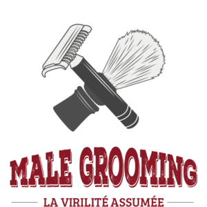Logo de Male Grooming, interview de Rosario Grasso par Monsieur Barbier.