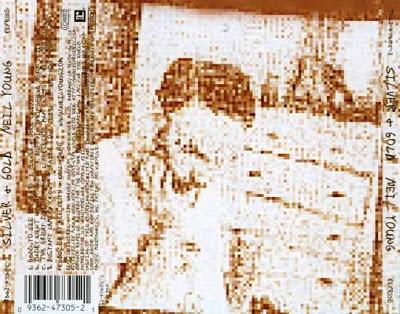Chanson du matin : Pochette arrière de l'album Silver & Gold, par Neil Young (2000).