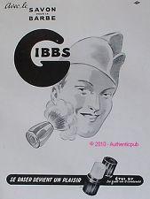 Stick de crème de rasage par Gibbs - Publicité - Monsieur Barbier