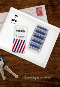 Recharges de rasoir Challenger, compatibles gillette mach 3
