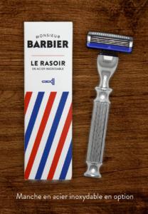 Manche pour rasoir Challenger gillette compatible mach 3