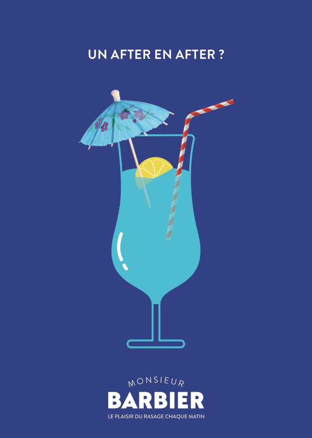 Dans notre dictionnaire du rasage, nous parlons de l'Aqua Velva. Cocktail rasage.