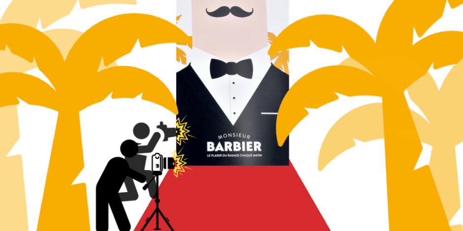Tapis Rouge pour Monsieur Barbier. Rendez-vous au Festival de Cannes