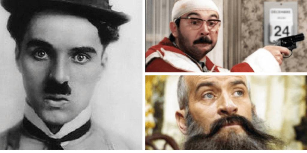 Charlie Chaplin, Gérard Jugnot, Louis de Funès. Des acteurs mythiques reconnaissables entre tous, leurs moustaches aussi.
