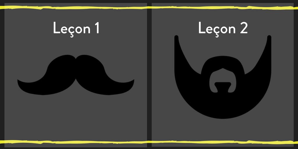 Barbe ou Moustache, que choisir?