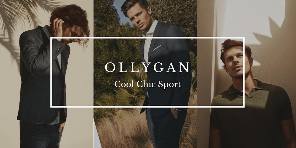 OLLYGAN rhabille l'homme de la tête au pied. Lifestyle et masculinité