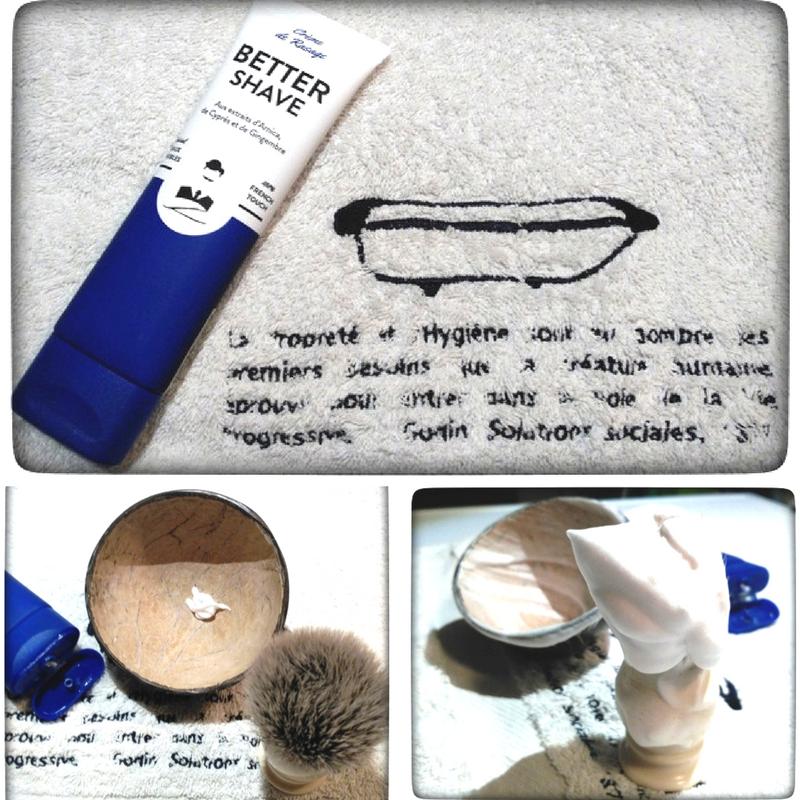 Better-Shave, Crème de rasage vu et testé par rasage traditionnel