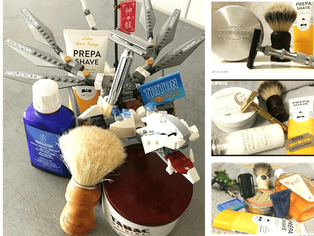 Prepa-Shave, Avant-rasage vu et testé par rasage traditionnel