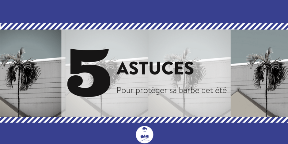 5 astuces pour prot ger sa barbe cet t le blog de monsieur barbier. Black Bedroom Furniture Sets. Home Design Ideas
