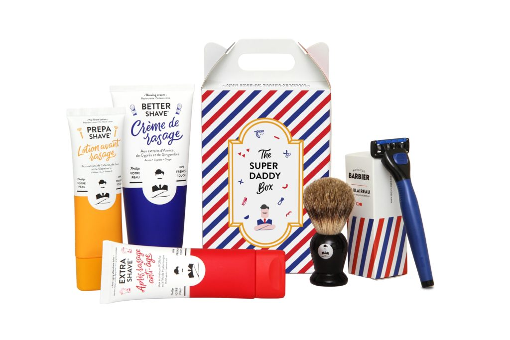 french beauty lab monsieur barbier monge coffret cadeau super daddy