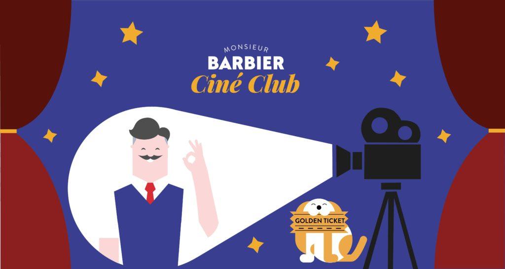 Monsieur Barbier Ciné club groupe Facebook actualité cinéma places de cinéma à gagner.