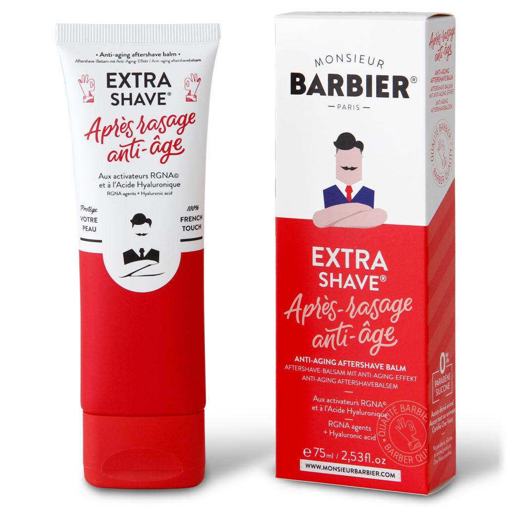 huile antioxydant anti-inflammatoire, hydratant, cicatrisant, antibactérien monsieur barbier après rasage extra shave