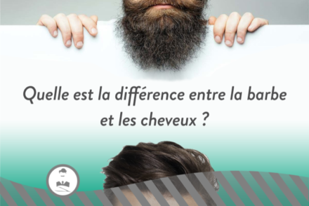 cheveux barbe