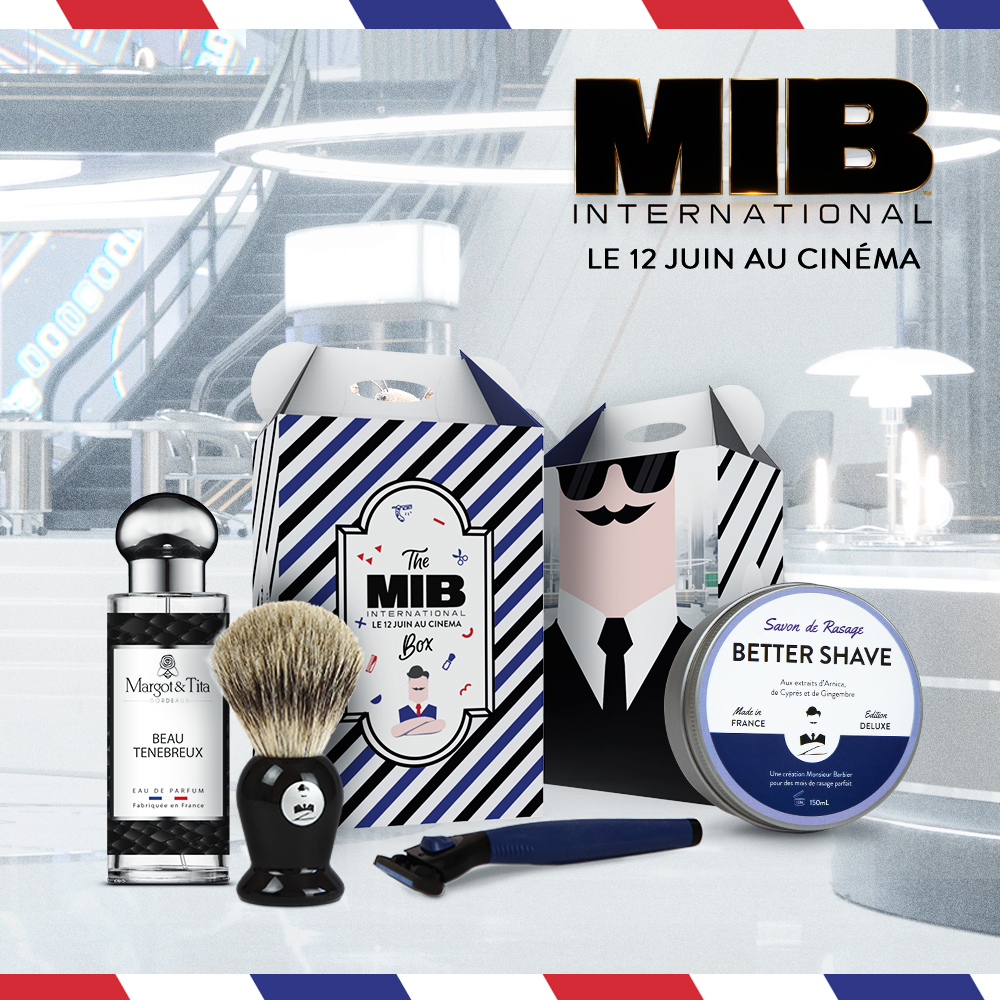 "Coffret VIP ""Men in Black International"" - Monsieur Barbier + Margot & Tita"